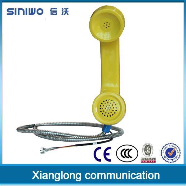 china popular outdoor payphone waterproof telephone handset 3