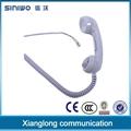 sealing waterproof Ip65 handset with PTT