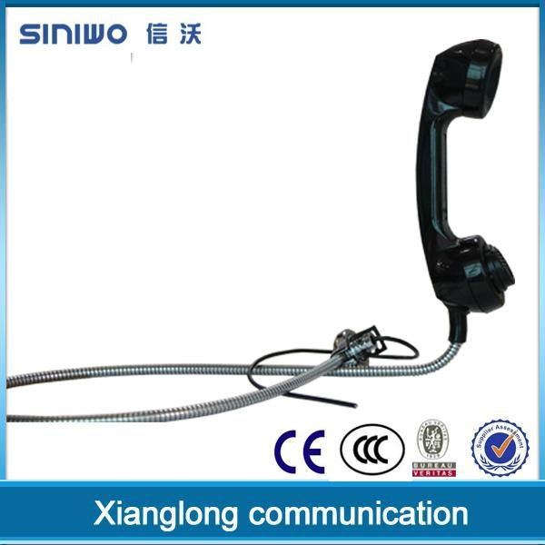 Public payphone integrated industrial usb rj11 interface retro telephone handset 2