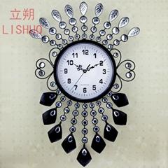 Simple european-style wall clock fashion creative arts large quartz clock bedroo