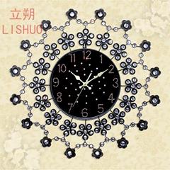 LISHUO specials european-style bracket clock fashion rural wall clock large sitt