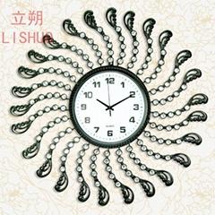 Lishuo seconds kill simple American home art digital clock restoring ancient way