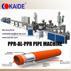Overlaop Welding PEX-AL-PEX Pipe Making Machine KAIDE