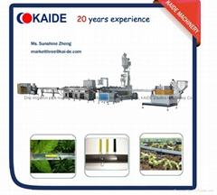 Inline flat drip irrigation tape extruder machine  KAIDE 180m/min