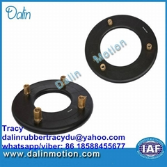 Disc clutch brake air tube