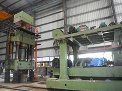 1250T hydraulic forging press in India