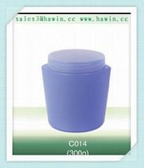 300g cosmetic jar plastic jar hand cream jar PE jar