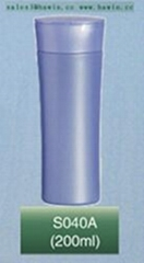200ml HDPE plastic bottle shampoo bottle flip top cap bottle