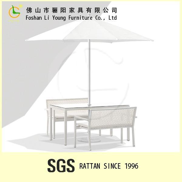 藤編桌椅傢具組合 1