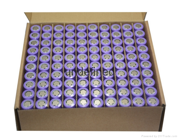 厂家直销 A品足容量锂电池18650锂电芯3.7v2200mAh 4