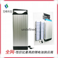 厂家直销电动车锂电池后衣架款48v8800mAh批发 2