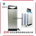 廠家直銷電動車鋰電池后衣架款48v8800mAh批發 2