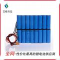 厂家直销电动车锂电池后衣架款48v8800mAh批发 3