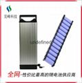 廠家直銷電動車鋰電池后衣架款48v8800mAh批發 4