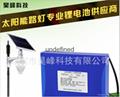 厂家12V40Ah太阳能路灯专用锂电池组 2