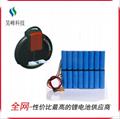 厂家供应独轮车锂电池60v2200mAh 续航远不断电 2