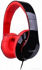 Cellphone Hi-Fi headphone  extra bass stereo headset
