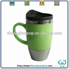 450ml Double wall travel mug wholesale