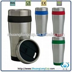 BPA free double wall travel mug hot sale