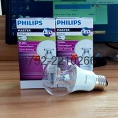 飛利浦(PHILIPS) LED燈泡 球泡 6W E24大螺口 6500K白光