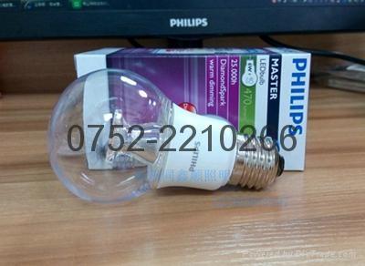 飞利浦(PHILIPS) LED灯泡 球泡 6W E24大螺口 6500K白光  4