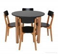hot selling wooden dining table and chair 4