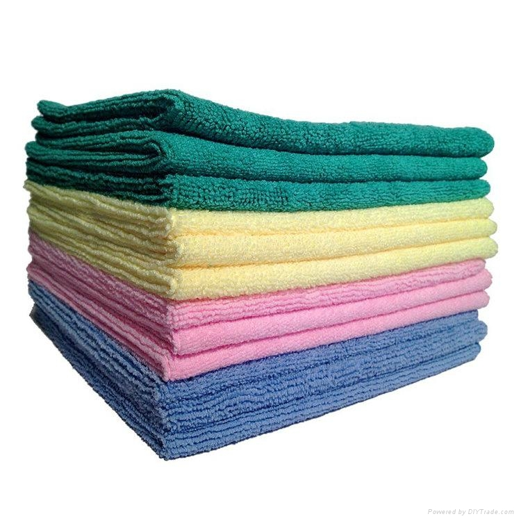 microfiber cleaning towel/cloth 4