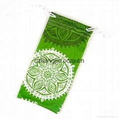 microfiber drawstring pouch