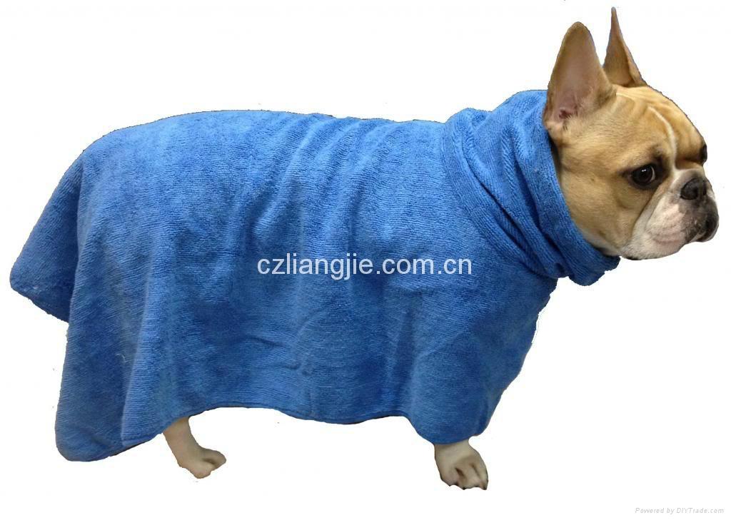 microfiber pet bath towel 3