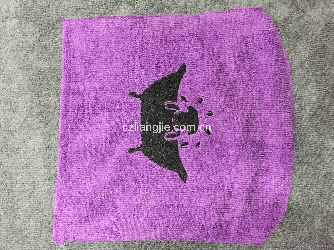 microfiber pet bath towel 5