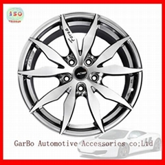 Alloy wheels rims for volkswagen lavida audi toyota 17inch 5 holes