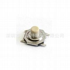 專業生產銅頭小按鍵5.2*5.2輕觸開關 4*4鍋仔開關