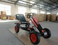 double seat adult pedal go kart 2