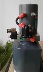 Electric pallet truck power unit