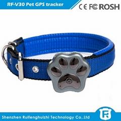 waterproof IP66 mini pet cow gps tracker with dog collar gps tracking device