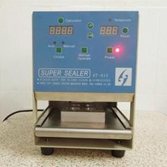Nespresso compatible coffee capsule sealing machine