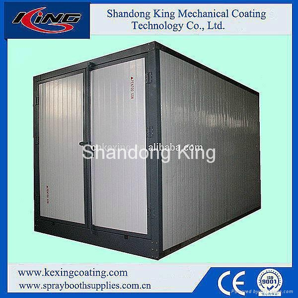 Rock Wool Panel High Performance Electric Chamber for Powder Curing 1
