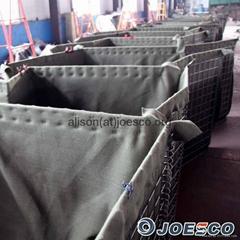hesco wire mesh/ joesco hesco bag/hesco gabion