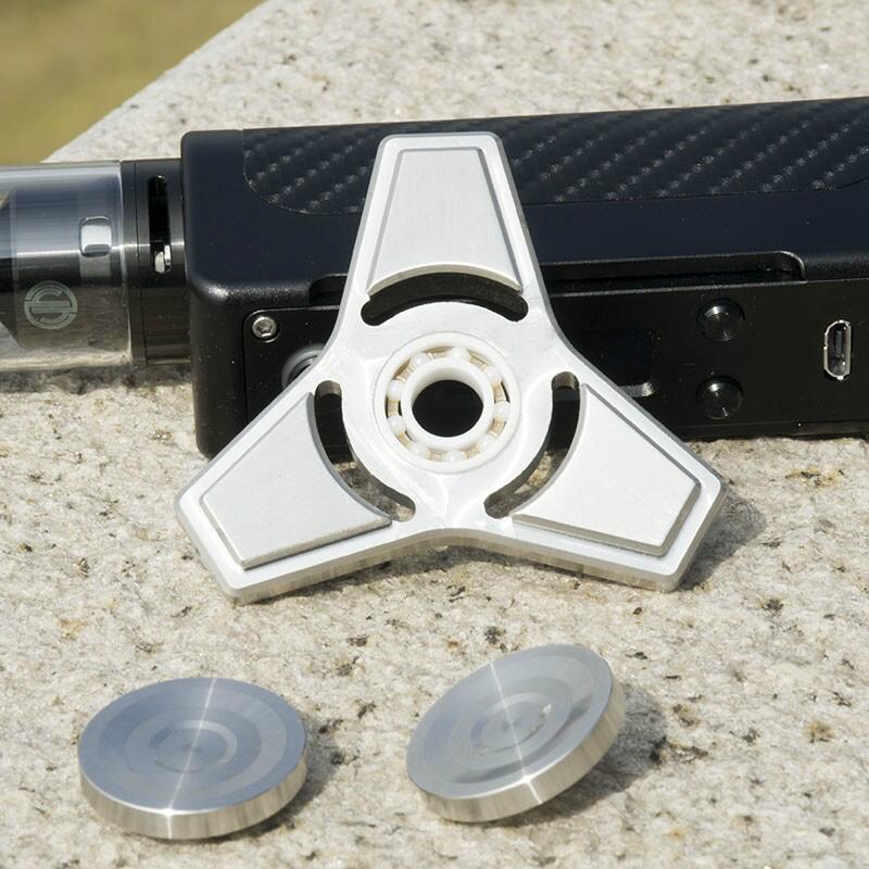 Clearance hand spinner fidget spinner staninless steel ceramic bearing fast  2
