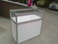 广西租赁玻璃展览展示柜台 2