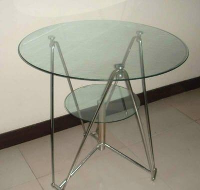 租赁南宁东盟展览会9CM玻璃圆桌 1