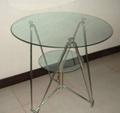 租賃南寧東盟展覽會9CM玻璃圓桌 1