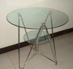 租賃南寧東盟展覽會9CM玻璃圓桌