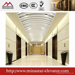 450kg~1600kg Suzhou Commercial Hotel and Office Passenger Elevator machine room|