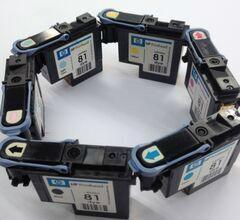 大量收購今晨噴碼機HP45墨盒HP11打印頭 2