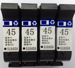 大量收购今晨喷码机HP45墨盒HP11打印头