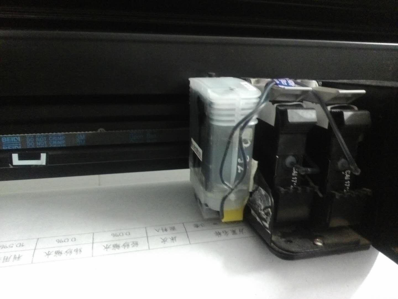 深圳文彩HP45新雳科技服装唛架机墨盒HP11墨水 4