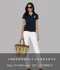 上海徽毫女式T恤订制