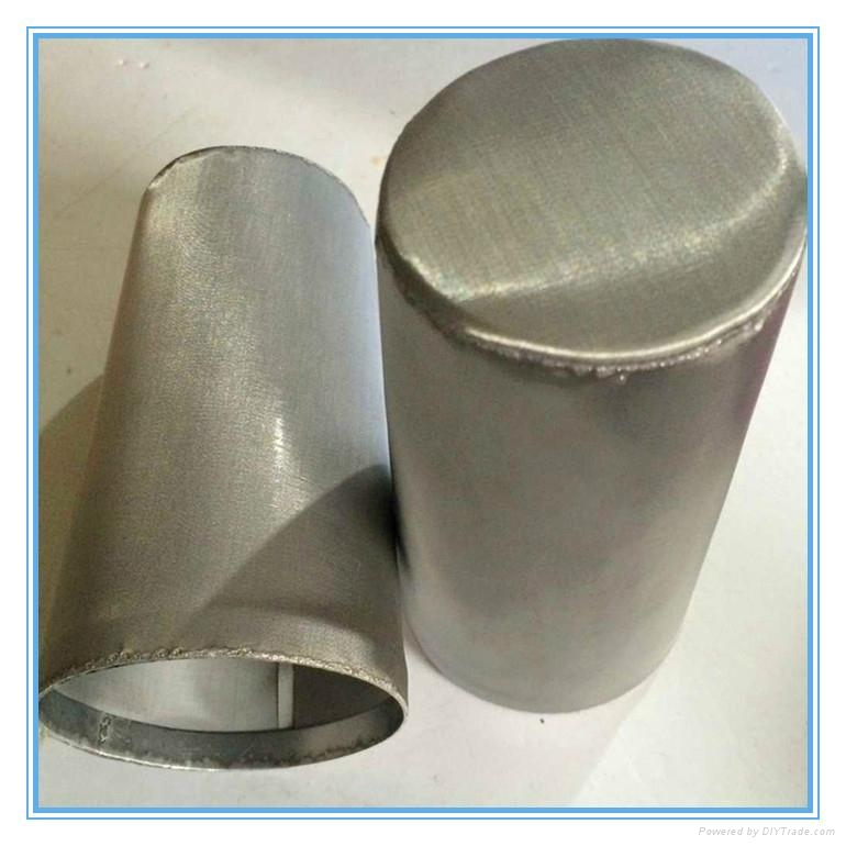 perforated metal removal water powder filter 3