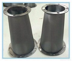 perforated metal removal water powder filter